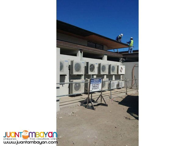 Air Conditioning Exhaust Ventilation Mechanical Contractor ILO ILO