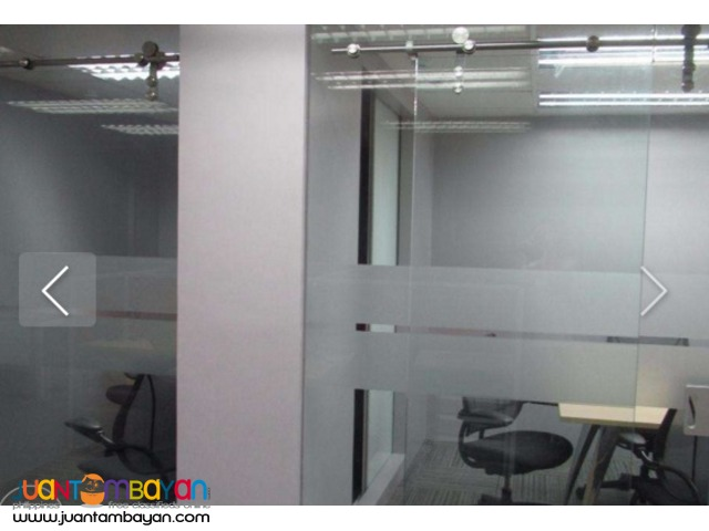 128 sqm Fully Fitted Office Space for Rent Lease Ortigas Center Pasig
