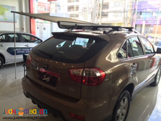 SUV BYD S6 model 69K cash out promo