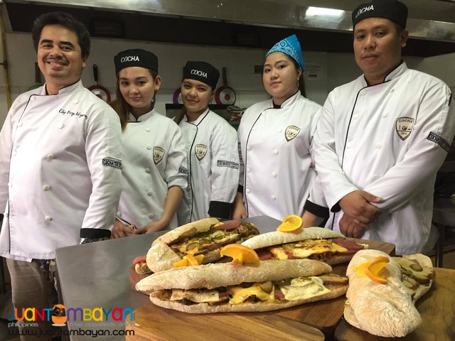 COCHA Culinary Action Photos (Bread and Pastry)
