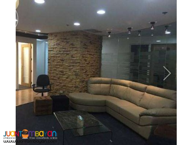 Fully Furnished Service Office for Rent Lease Ortigas Center