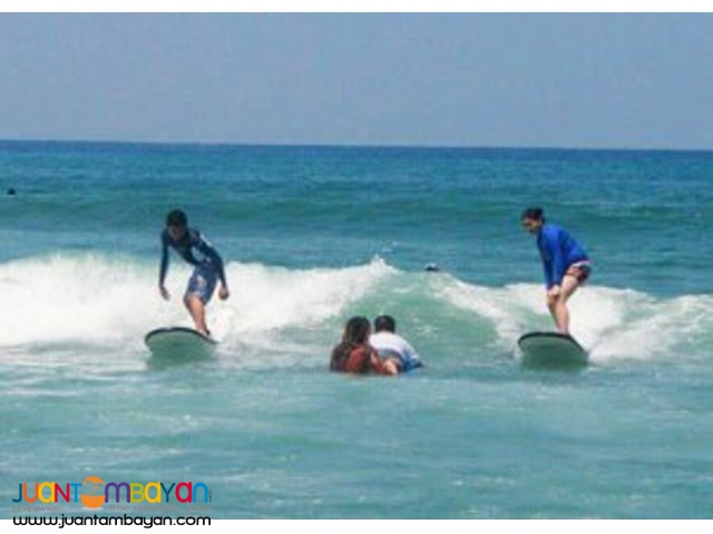 Surfing, Baler Tour Package