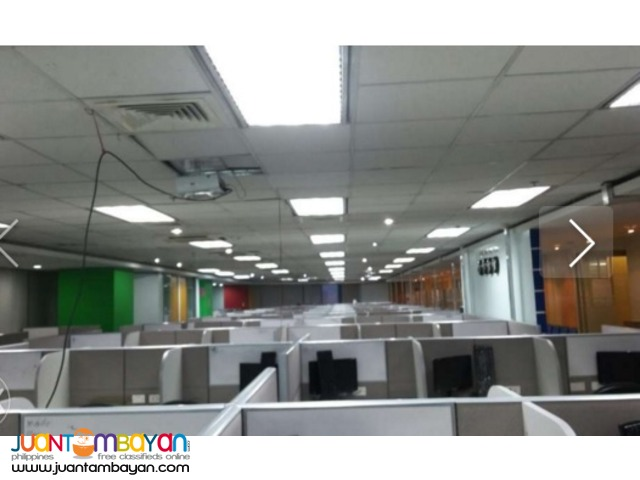 Fully Furnished Office Space for Rent / Lease Ortigas Center