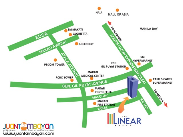 The Linear Rent to Own RFO Condo in Makati