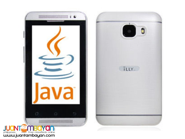 iLLY T8 3.5-inch JAVA Smartphone White