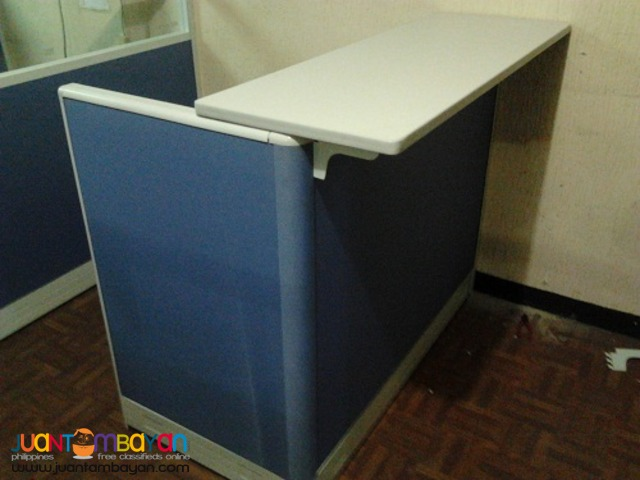 Reception Counter with Table top- Modular type