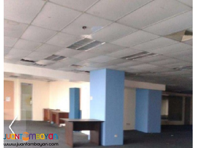 2000 sqm Office Space for Rent Lease Ortigas Center Pasig City