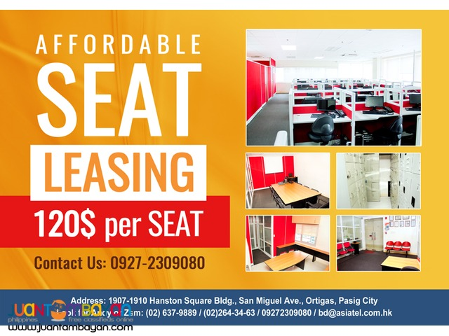 Call Center Seat Lease/Leasing in Ortigas Pasig City