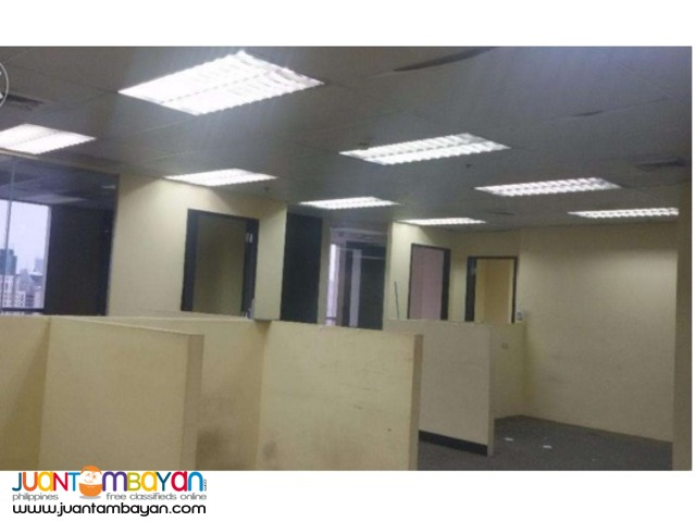 Ortigas Office Space for Rent Lease PEZA 600 sqm Penthouse Unit