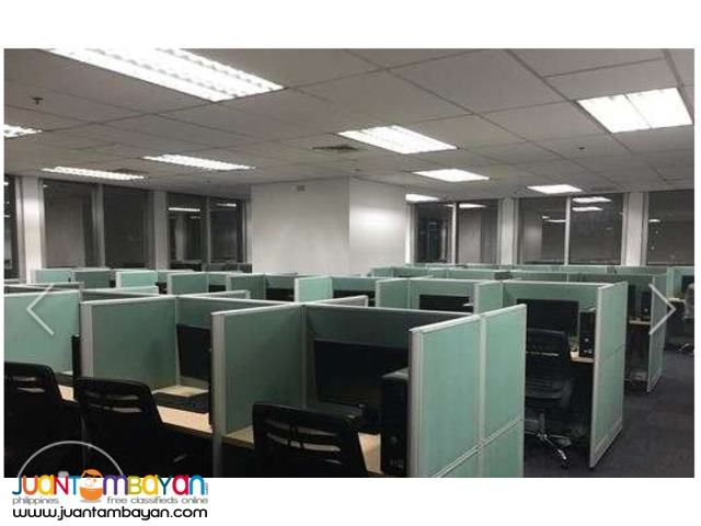 200 Seats for Call Center / BPO for Lease, Plug and Play Ortigas PEZA