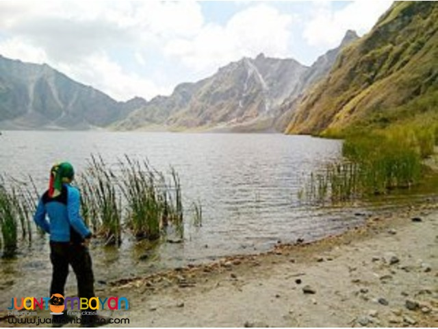 Disaster maker, Mt Pinatubo tour