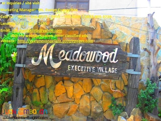 Meadowood Exec. Village @ P 8,200/sqm.