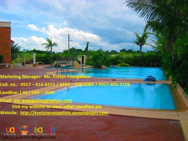 Rio de Oro Res. Estates @ P 4,500/sqm.