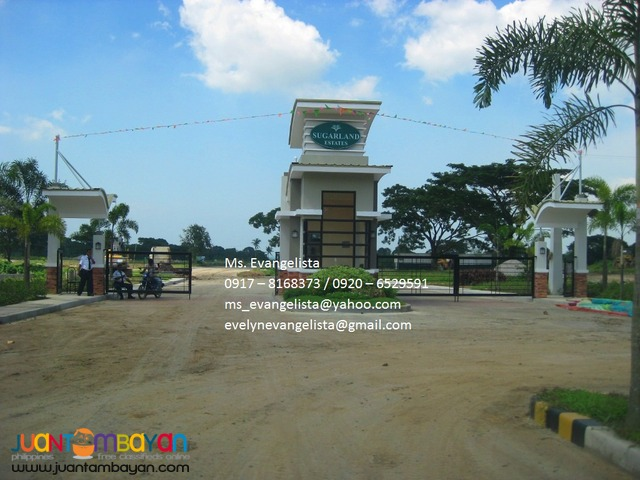 Sugarland Estates @ P 4,700/sqm.