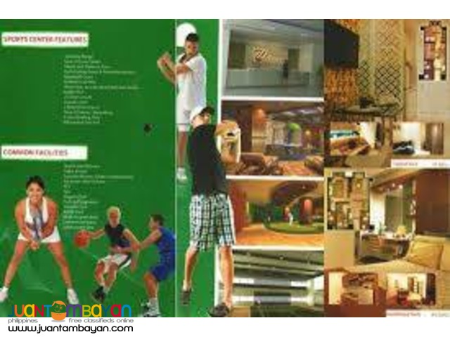 Sports Lover And Healthy Conscious (Condo Unit)