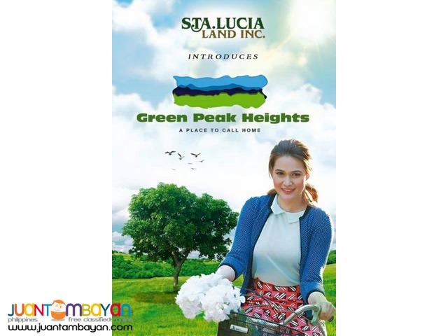 Affordable Lots at GREEN PEAK HEIGHTS Baras Rizal