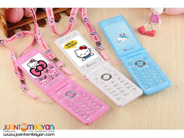 shop : Hello Kitty D10 Flip Cellphone