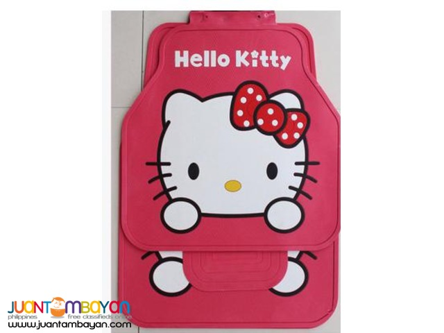 Shop : Hello Kitty 5pcs Car Mat