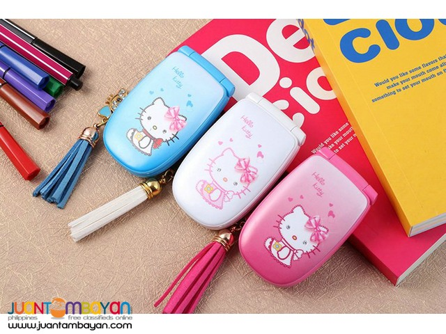 Shop : Hello Kitty W88 Mini Cellphone