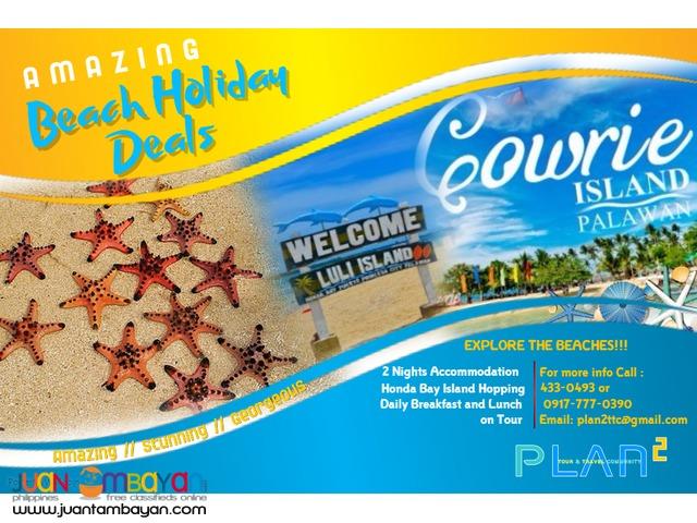 3D2N Accommodation plus Honda Bay Island Hopping!