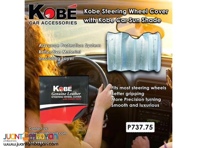 Steering Wheel Cover and Sunshade