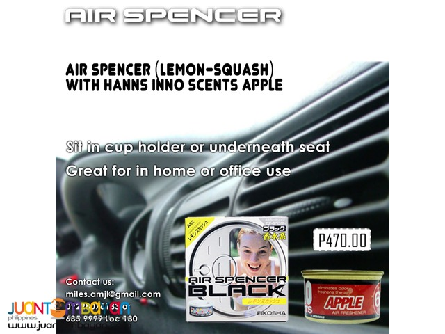 Air Spencer Scent ( Apple and Lemon Squash )