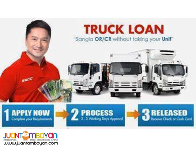 Truck loan and 2nd hand truck financing