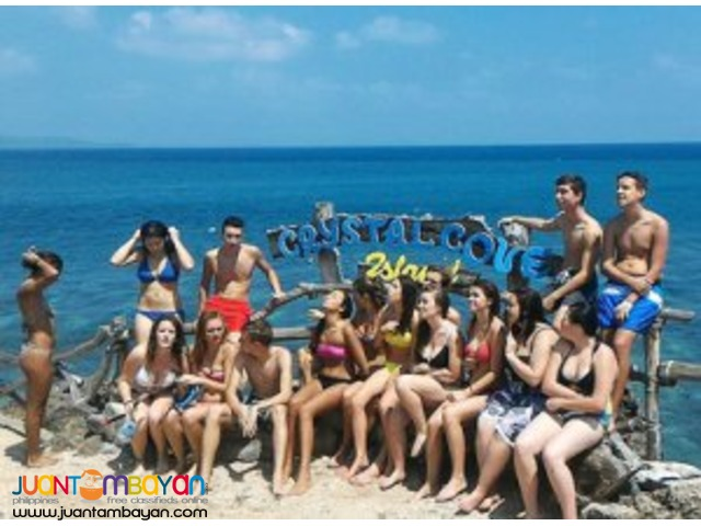 Joining Boracay island hopping