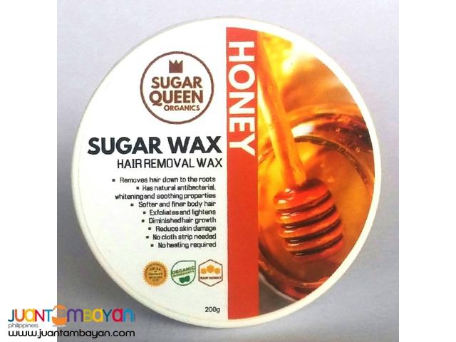 sugar wax hair removal