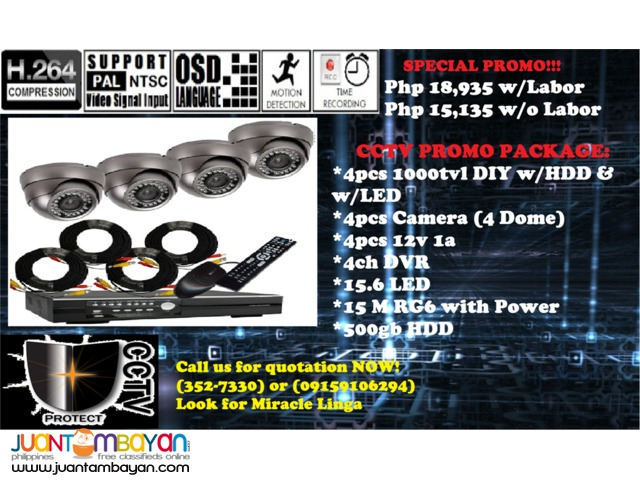 CCTV Package (4Dome)