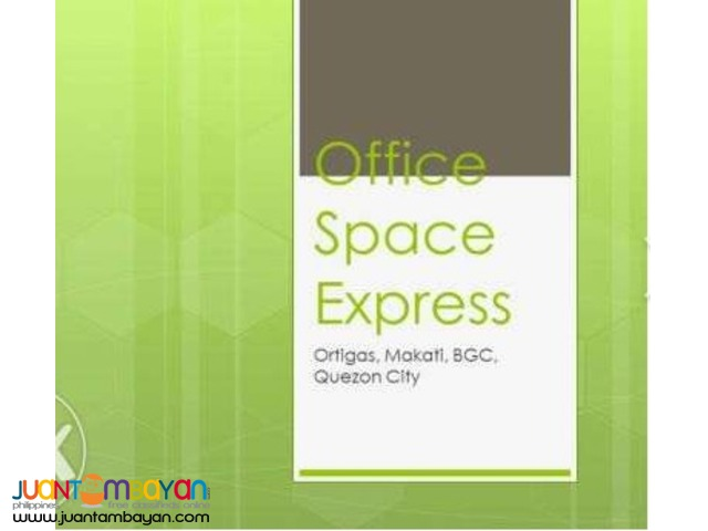 Office Space for Rent Lease Ortigas Center, Makati, BGC, QC
