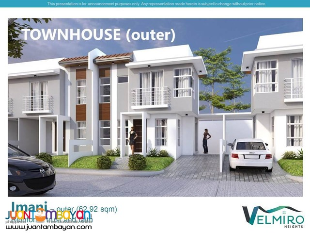 FOR SALE IMANI MODEL UNIT - CORNER LOT