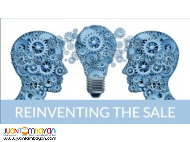 Drive strong growth in your business by Reinventing the Sale