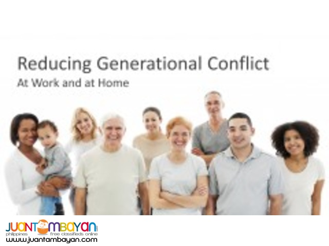 Reducing Generational Conflict: At Work and At Home