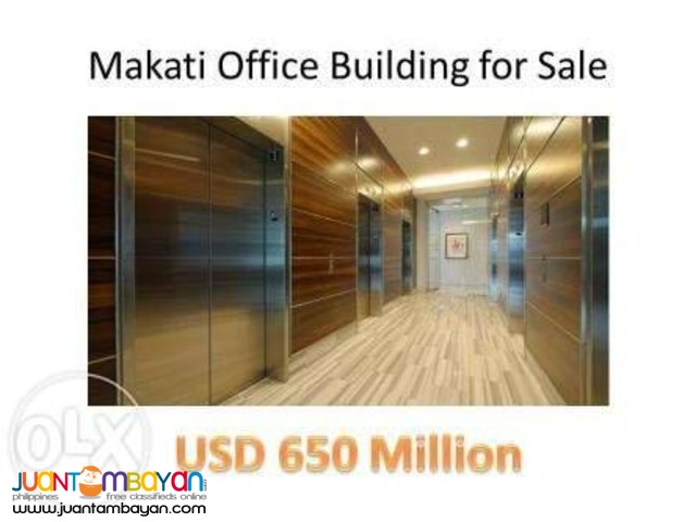 Makati Office Building for Sale Ayala Avenue 2400 sqm