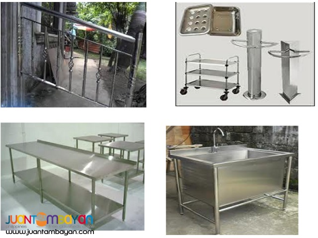 Stainless Sink Hood Table Food Cart Equipment Customized