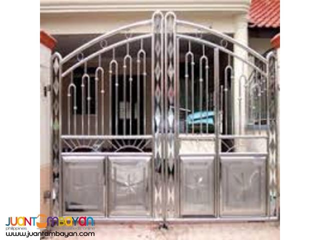 Gate Metal Fabrication, Steel Gate, Steel Fence, Iron Works