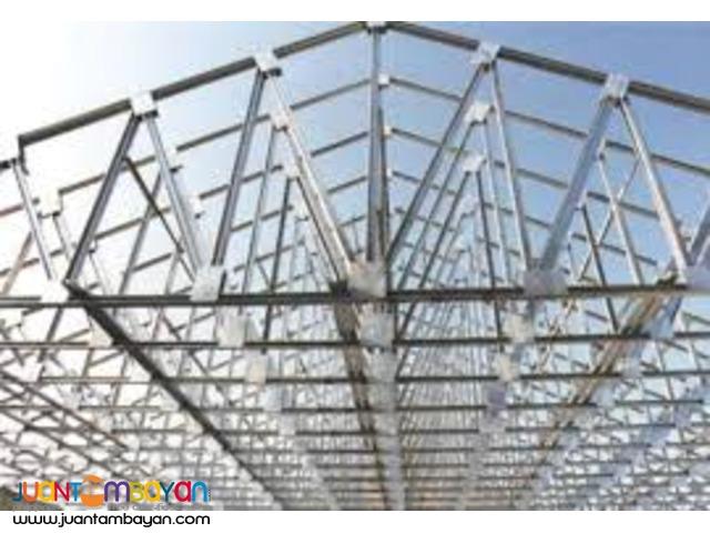 Steel Trusses, Metal Works