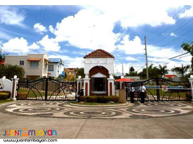 Mediterranean 2 storey House Lot for Sale Cebu
