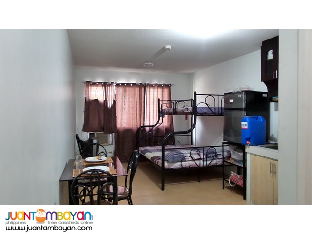 One Oasis Ortigas Studio Unit for Rent (Fully Furnished)