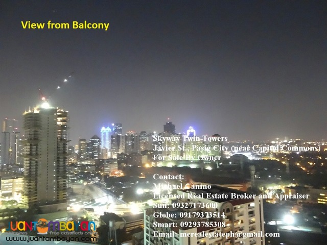 Skyway Twin Towers 1 BR Condo Unit with Parking in Pasig