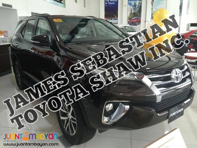 TOYOTA BIG SALE 499k DP - 2016 ALL NEW Toyota Fortuner 4x4 V Diesel AT