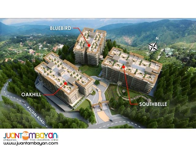 1, 2 & 3 BR Pacdal Baguio Condo - Bristle Ridge Condominium