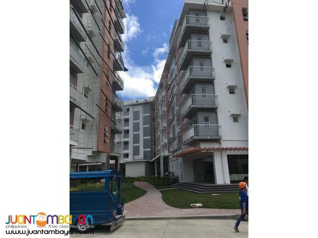Semi-Furnished 1 Bedroom Condo for rent in cebu city