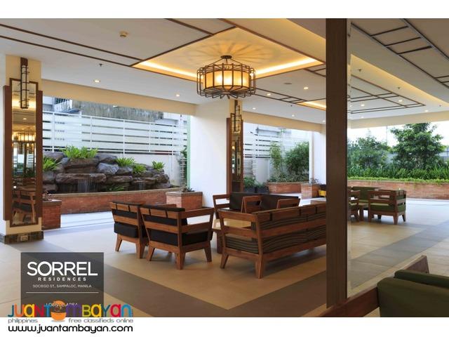 1, 2 & 3 BR Sta. Mesa Manila Condo Sorrel Residences Condominium