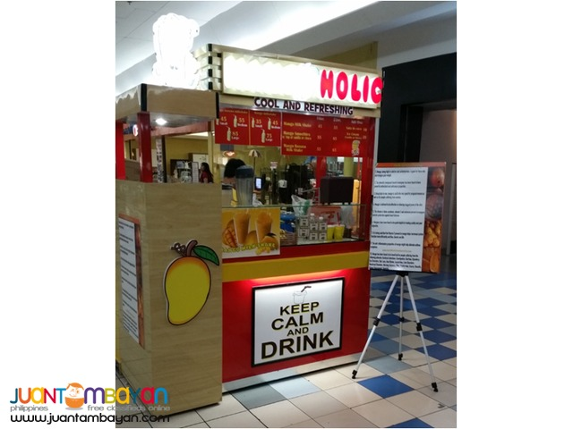 Mango Holic Fruitshake Foodcart Franchise Business
