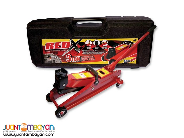 Red X Hydraulic Floor Jack 3 Tons