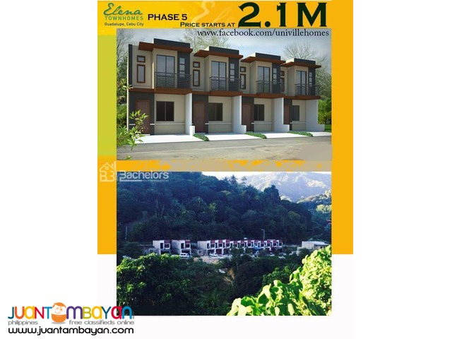 ELENA TOWNHOMES - PHASE 5 Guadalupe, Cebu City