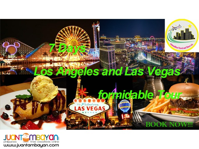 7 Days Los Angeles and Las Vegas Budget Tour