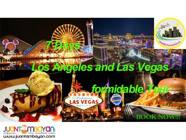 7 Days Los Angeles and Las Vegas Budget Tour